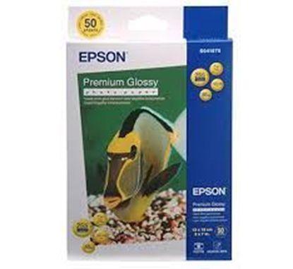 Изображение Бумага Epson 130mmx180mm Premium Glossy Photo Paper