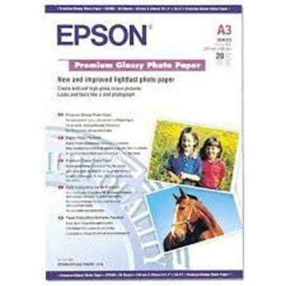 Зображення Бумага Epson A3 Premium Glossy Photo Paper