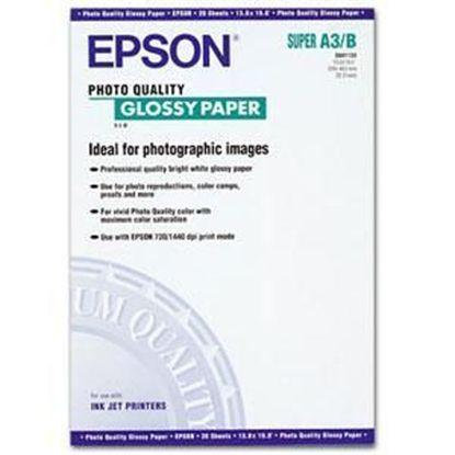 Зображення Бумага Epson A3+ Photo Quality Glossy Paper