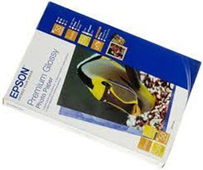 Изображение Бумага Epson 100mmx150mm Premium Semiglossy Photo Paper