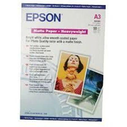 Изображение Бумага Epson A3 Matte Paper-Heavyweight