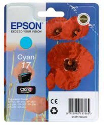 Зображення Картридж Epson 17 XP103/203/207 cyan