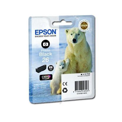 Зображення Картридж Epson 26 XP600/605/700photo black