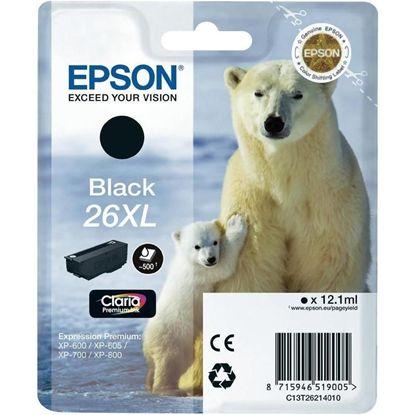 Зображення Картридж Epson 26XL XP600/605/700 black pigment