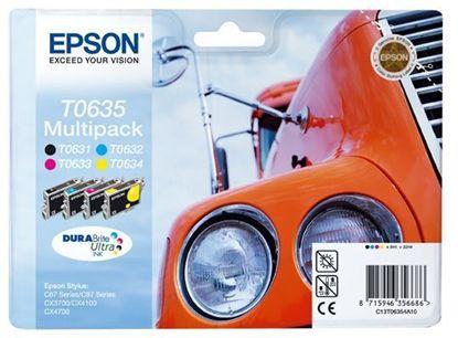 Зображення Картридж Epson StC67/C87,CX3700/4100/4700 Bundle (C,M,Y,Bk)