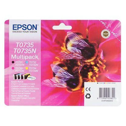Зображення Картридж Epson StC79/110, CX3900/4900/5900/7300/8300 Bundle (C,M,Y,Bk)