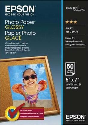 Изображение Фотобумага Epson 130mmx180mm Glossy Photo Paper
