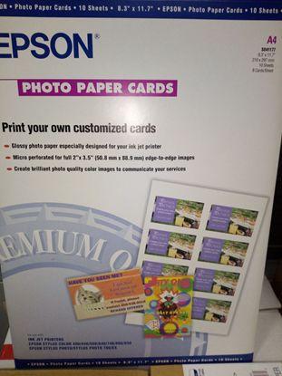 Изображение Бумага Epson А4 Photo Paper Card