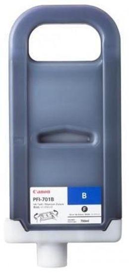 Изображение Чернильница Canon PFI-701B  (blue) iPF8000/9000, 700мл
