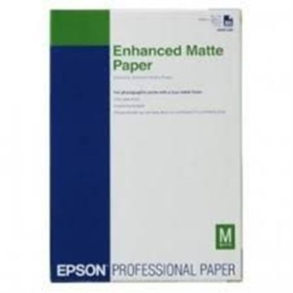Изображение Бумага Epson A3+ Enhanced Matte Posterboard