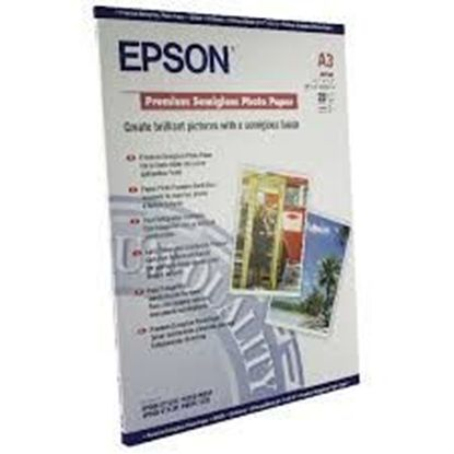 Изображение Бумага Epson A3 Premium Semigloss Photo Paper