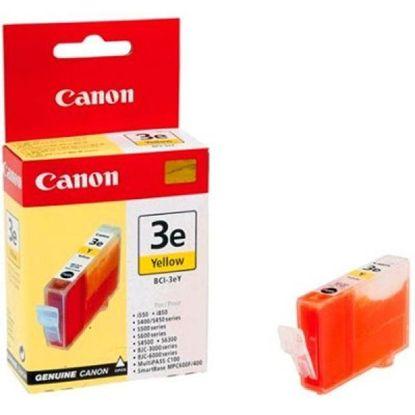 Изображение Картридж Canon BCI-3eY Yellow для BJC-3000/6000/6100/6200/6500, BJ-i550/i850/i6500, S400/450/4500/500/520/600/630/6300/750, SmartBase MPC400/600F/MP700Photo/MP730
