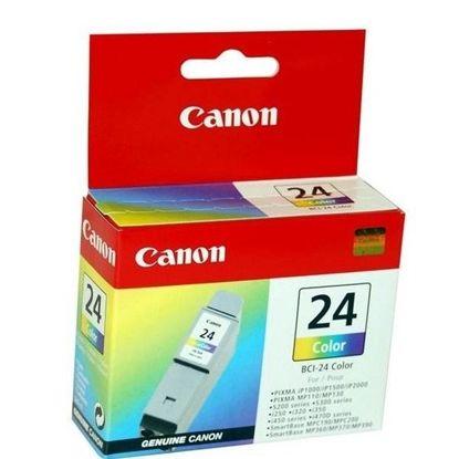 Изображение Картридж Canon BCI-24 color для S200/200х/300/330Photo, i250/i320/i350/i450/i455/475D, SmartBase 190/200/MP360/370/390, PIXMA iP1000/iP1500/iP2000, PIXMA MP110/MP13