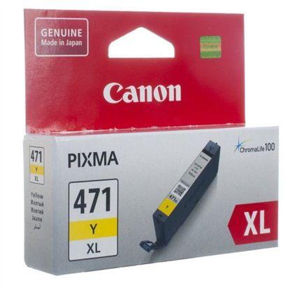 Изображение Картридж Canon CLI-471Y XL PIXMA MG5740/MG6840 Yellow