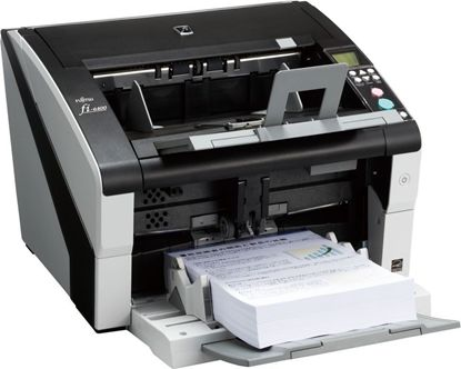 Изображение Документ-сканер A3 Fujitsu fi-6400