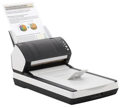 Изображение Документ-сканер A4 Fujitsu fi-7280 (встроенный планшет)