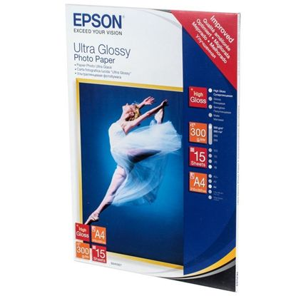 Зображення Бумага Epson 100mmx150mm Ultra Glossy Photo Paper, 50л.