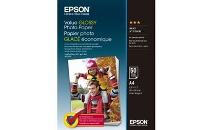 Изображение Epson A4 Value Glossy Photo Paper