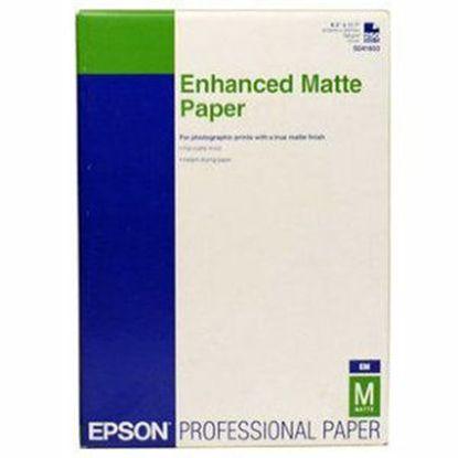 Зображення Бумага Epson  Enhanced Matte Paper A4 (250 л, 192 г/м2)