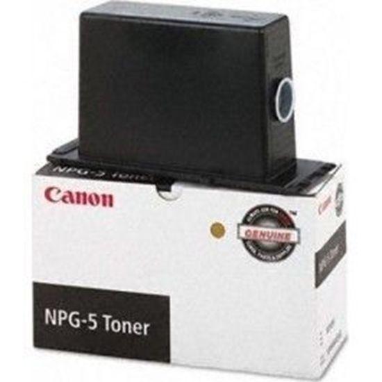 Зображення Тонер Canon NPG-5 Black для Canon NP 3030/3050, 13600 стр@5% (A4),  (оригинал)