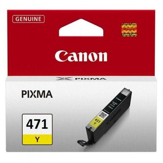 Зображення Картридж Canon CLI-471 Yellow, шт