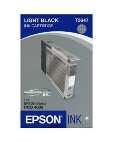 Изображение Картридж EPSON Stylus PRO 4800 light light black, 110мл