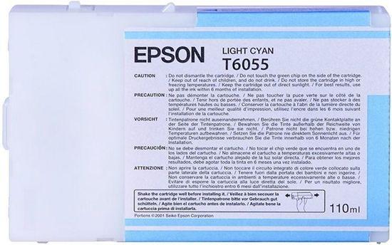 Зображення Картридж Epson StPro 4800/ 4880 light cyan, 110мл