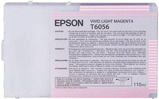 Зображення Картридж Epson StPro 4880 vivid light magenta, 110мл