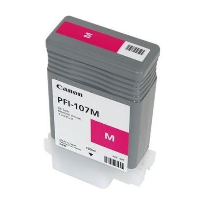 Зображення Картридж пурпурный (на основе водорастворимых чернил) PFI-107 Magenta (iPF680, iPF685, iPF780 и iPF785), 130 ml