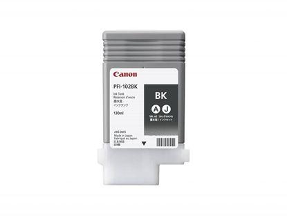 Зображення Чернильница Canon PFI-102Bk (black) iPF500/ 600/ 700