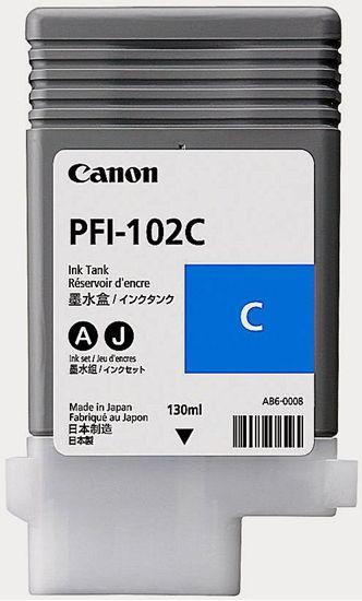 Изображение Чернильница Canon PFI-102C (cyan) iPF500/ 600/ 700
